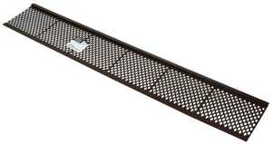 Amerimax 85279BX Brown Plastic Gutter Guard 3 ft