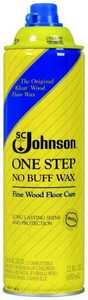 Sc Johnson 00125 22 oz 1 Step Fine Wood Floor Care