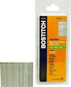 Stanley-Bostitch SB16-250 2-1/2 in Stick Finish Nail 16ga
