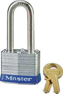Master Lock 3DLF 1-1/2 in Shackle Steel Padlock