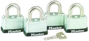 Master Lock 3009D 1-1/2-Inch Laminated Steel Warded Padlock