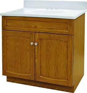 Foremost Groups HEO3018 30x18 Oak Heartland Vanity Combo