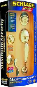 Schlage Lock F60V Ply/Acc 619 Handleset