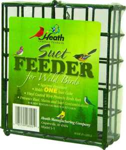 HEATH MFG S-1-8 Single Hanging Suet Feeder