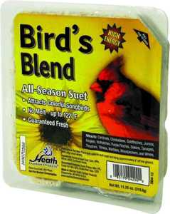 HEATH MFG DD4-12 All Season Bird Blend Suet 11.25 oz