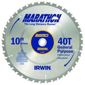 Irwin 14070 10 in Trim/Finish Saw Blade