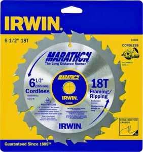 Irwin 14020 6-1/2 in Framing/Ripping Blade