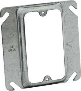 Raco 8772 1-Gang 4 in Sq Raised Cover Box
