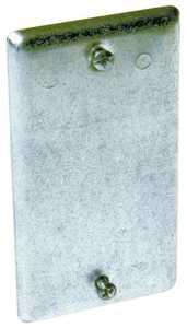 Raco 860 Steel Blank Utility Box Cover