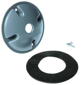 Bell Weatherproof 5193-0 Gray Round Lamphlder Cover