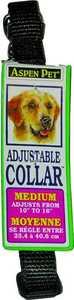 Aspen Pet 15710 10 in Nylon Black Adjustable Collar