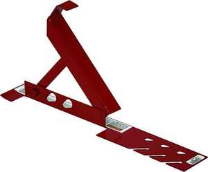 Qualcraft Industries 2500 10 In Adjustable Angle Steel Roofing Brackets