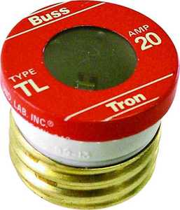 Bussmann Fuses BP/TL-20 20a Medium Duty Plug Fuse