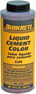 Quikrete 131701 10 oz Brown Cement Color