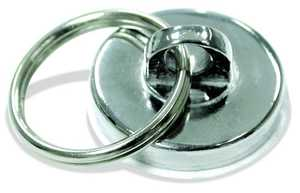 Master Magnetics 07287 35# Neodymium Magnet W/Key Ring