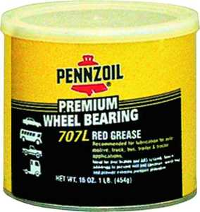 Pennzoil Products 7771 Wheel Bearing Grease 16 oz