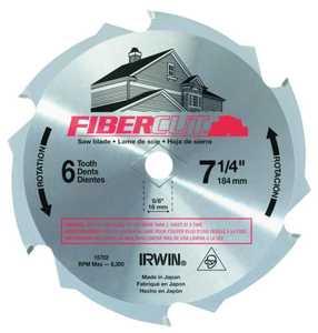 Irwin 15702 7-1/4 6tht Fibercut Blade
