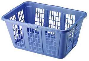 Newell Rubbermaid Home 296585ROYBL/29658 1.6 Blue Laundry Basket