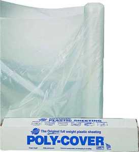 Lbm Poly 4X16-C 16x100 ft 4mil Clear Poly Film