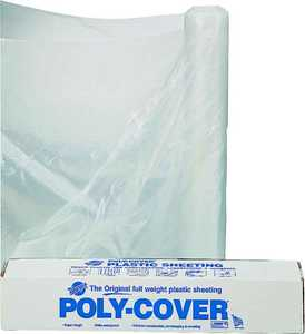 Lbm Poly 6X16-C 16x100 ft 6mil Clear Poly Film