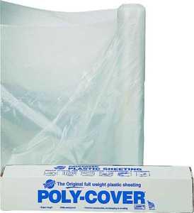 Lbm Poly 6X32-C 32x100 ft 6mil Clear Poly Film