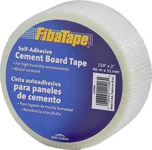 Saint-Gobain Technical 115060 2x150 Fiberglass Cement Board Tape