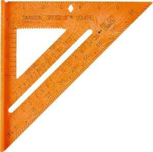Swanson Tool Co TO118 8 in Speedlite Square