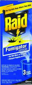 Sc Johnson 01529 3pk Raid Fumigator Fogger