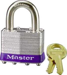 Master Lock 1D 1-3/4-Inch 4-Pin Steel Tumbler Padlock