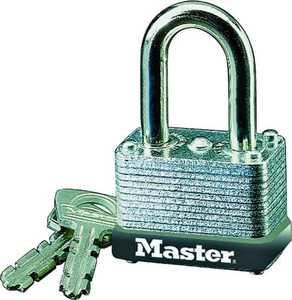 Master Lock 22D 1-1/2-Inch Wide Laminated Steel Selflock Padlock