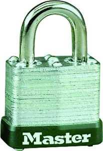 Master Lock 105D 1-1/16-Inch Selflock Steel Padlock