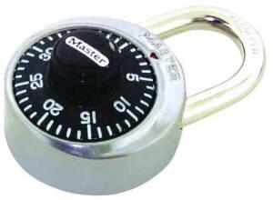 Master Lock 1500D 1-7/8 Steel Combination Lock