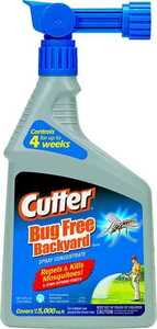 Cutter Backyard Bug Control Concentrate 1-Quart