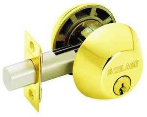 Schlage Lock B62NV 505 Double Cylinder Deadbolt K4
