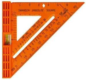 Swanson Tool Co TO111NEW Speedlite Level Square