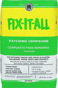 Custom Building Products DPFXL25 25lb Fix It All Patch Compound