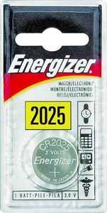 Energizer Battery ECR2025BP Watch/Calculator Battery