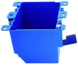 Thomas & Betts-Carlon B225R-UPC 2-Gang Pvc Old Work Outlet Box