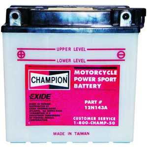 Exide Technologies 12N143A Small Engine Battery