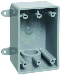 Thomas & Betts-Carlon E980DFN-CTN 1/2 in 1-Gangang Pvc Switch Box