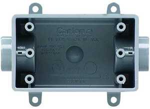 Thomas & Betts-Carlon E981DFN-CTN 1/2 in 1-Gangang Pvc Switch Box