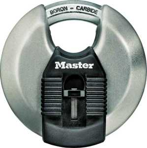 Master Lock M50XKAD 3-1/8-Inch Disc Padlock