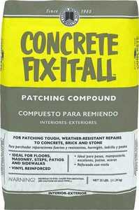 Custom Building Products DPCFL25 25lb Fix It All Concrete Patch
