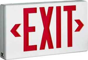 Cooper Lighting LPX7 Led Exit Light Red