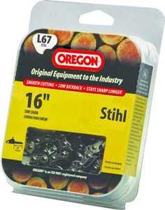 Oregon Cutting Systems L67 16-Inch Stihl Chainsaw Chain