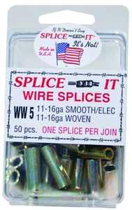 New Farm Products WW5 16ga Wire Fence Splice-It