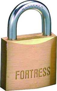 Master Lock 1840D 1-9/16-Inch Solid Brass Padlock