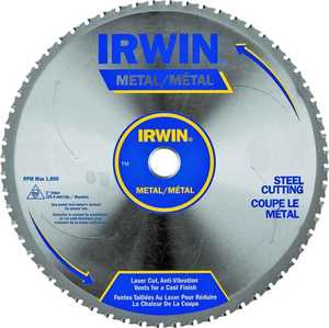 Irwin 15370 10 in 60tht Circular Saw Blade