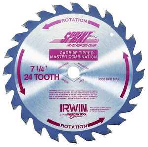Irwin 15130 7-1/4 24t Circular Saw Blade