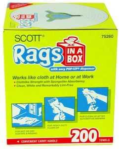 Kimberly Clark 75260 Scott Rags In A Box